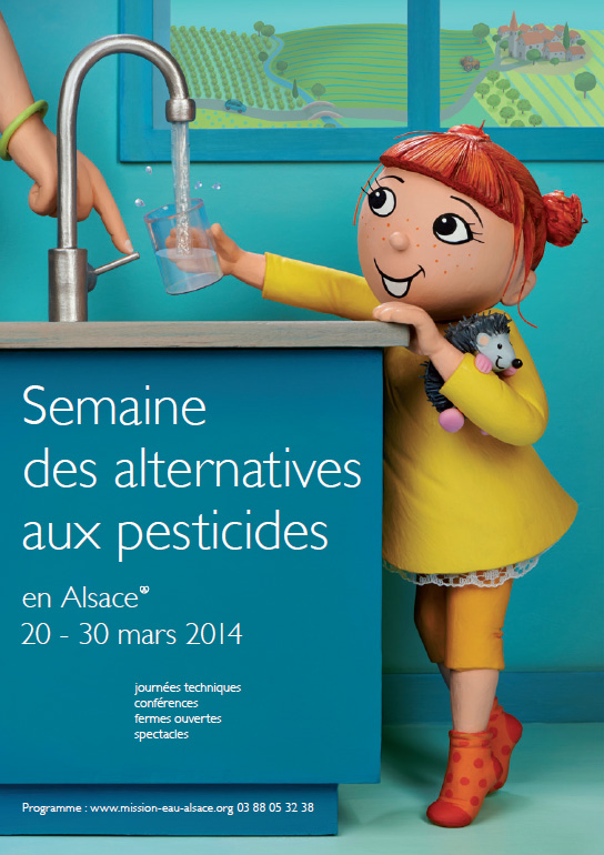 Affiche semaine des alternatives aux pesticides 2014
